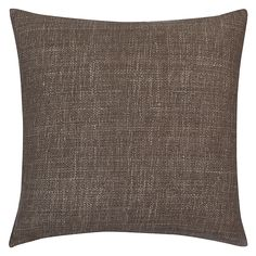 Buy west elm Silk Hand Loomed Cushion, Shale Online at johnlewis.com