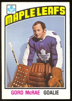 Before we list cards consigned to COMC, we We currently house more than 17 million cards, each listed for sale with front and back images of the actual card. Maple Leafs Hockey, Goalie Mask, Hockey Goalie, Hockey Cards, Toronto Maple Leafs, Nhl, 1930s, Masks, Corner