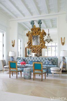 Glamorous Texas Home - Beverly Field Designed Home - Veranda