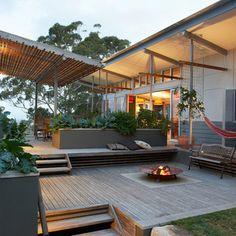 split level decking. Repinned by Secret Design Studio, Melbourne. www.secretdesignstudio.com