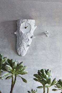 horloges murales nichoir avec deux coucous, accents à la maison blanche pour la décoration
