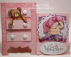 Dresser Stair-Step Card #2