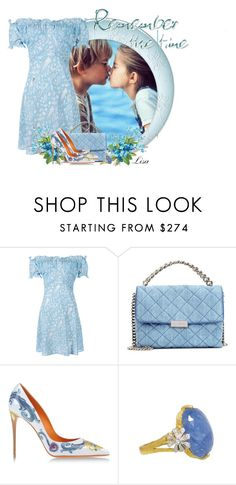 """Remember..."" by lmm2nd ❤ liked on Polyvore featuring RIXO London, STELLA McCARTNEY, Dolce&Gabbana and Cathy Waterman"