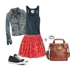 Teen Outfit! by jjanstover on Polyvore....my daughter can have it all but the bag :)