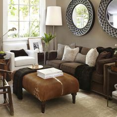 Brown Couch Design Pictures Remodel Decor And Ideas Beautiful Living Rooms