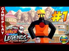 Naruto Shippuden Legends Akatsuki Rising PSP Walkthrough #1