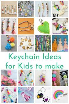 25  DIY Keychain Ideas For Kids To Make