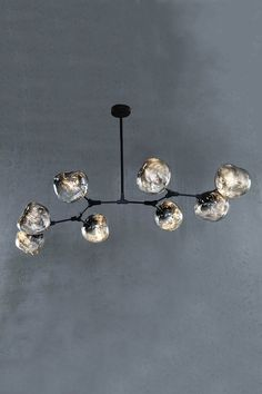 Rhome II Branching Bubble Chandelier - The Vault Bubble Chandelier, Chandelier Pendant Lights, Crystal Chandeliers, Family Room Lighting, Ceiling Lamp Shades, Ceiling Lamps, Art Deco Lamps, Tiffany Lamps, Antique Lamps