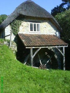 Watermill near Lyme Regis, Dorset.