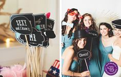 Free Printable: Photo Booth Sign