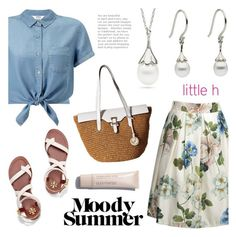 """""""Moody Summer!"""" by littlehjewelry ❤ liked on Polyvore featuring Miss Selfridge, Tory Burch and MICHAEL Michael Kors"""