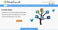 Check out our new site redesign! receptional.com