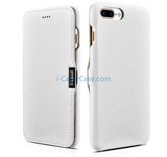 iCarer iPhone 7 Plus Luxury Series Side Open Genuine Leather Case