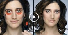 Video: she uses lipstick to hide her dark circles and it works! Diy Beauty, Beauty Makeup, Beauty Hacks, Diy Makeup, Makeup Tips, Gypsy Culture, Makeup Foundation, Dark Circles, Beauty Routines