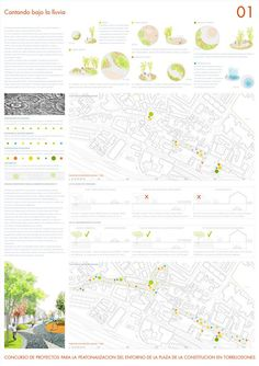 [A3N] Pedestrian Area in Torrelodones Competition Winner / B + L Arquitectos