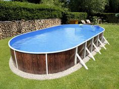 The most-versatile DIY Pool The walls of the swimming pool are assembled from thick-walled zinc-coated metal plates, which, in addition, are protected by a spec In Ground Pool Kits, Best Above Ground Pool, Above Ground Swimming Pools, In Ground Pools, Swimming Pool Kits, Natural Swimming Pools, Natural Pools, Oberirdische Pools, Cool Pools