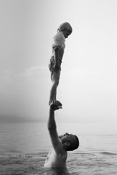 Father and Son by Igli Martini Kocibelli. - As you can see, your dad is the first person you trust in life.