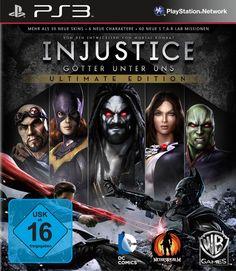 Injustice - Ultimate Edition - [PlayStation 3]: Amazon.de: Games
