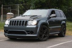 Jeep Grand Cherokee SRT8 #awesome