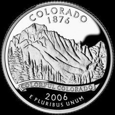 Colorado's official nickname is The Centennial State. Colorado became the state of the United States in 1876 (one hundred years after the signing of our nation's Declaration of Independence). State Of Colorado, Colorado River, Colorado Rockies, Colorado Springs, United States Mint, 50 States, Nebraska, Oklahoma, Usa Facts