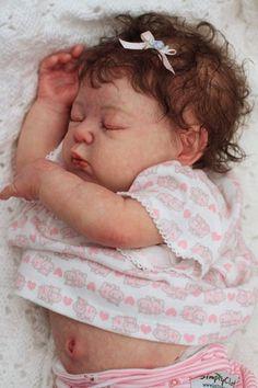 Reborn Baby OoPsy DaiSy lifelike baby girl by Annie by Adrie Stoete   eBay