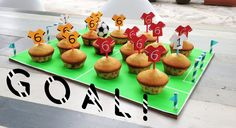 Bloesem Kids | DIY soccer themed treats by Anouk van der El of Make History co.