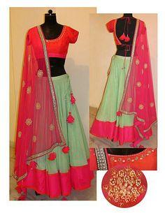 Cotton chaniya-choli for navratri. Cotton chaniya-choli for navratri. Cotton chaniya-choli for navratri. Cotton chaniya-choli for navratri. Cotton chaniya-choli for navratri. Choli Blouse Design, Choli Designs, Blouse Designs, Indian Bridal Wear, Indian Wear, Pakistani Outfits, Indian Outfits, Navratri Dress, Chaniya Choli For Navratri