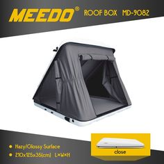 Camping Car Roof Tent Factory Selling High Quality Hard Shell Roof Tent