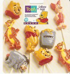 Winnie the Pooh candy molds  Wilton Candy Mold for Disney Winnie the Pooh by sassyfibersbySonja