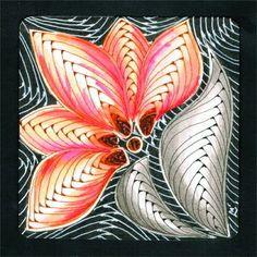 """Diva's Weekly Challenge #191: """"Monotangle: Betweed"""" zenlilymoon.blogspot.hu"""