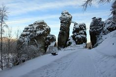 Very strange looking #rocks. But the history etched into these rocks are even more strange.#Externsteine in #Germany.