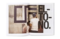 Page. The Magazine. by Face. , via Behance
