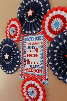 for July 4th party decor