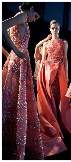 Backstage Elie Saab Couture F/W 2014-2015
