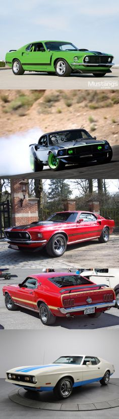 '69 Mustang sportsroof mach 1
