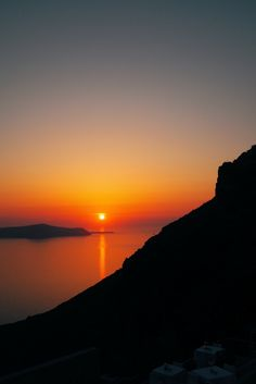 Greece Travel Inspiration - 5 Places to Catch that Picture Perfect Sunset in Santorini Greece - Fira