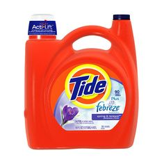 Tide 2x Ultra With Febreze Freshness Liquid Laundry Detergent, Spring... ($17) ❤ liked on Polyvore featuring food, home, stuff, extra and groceries
