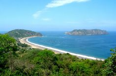 Salango, Manabì, Ecuador, popular for snorkeling and an archaeological museum, is 5 minutes south of Puerto Lopez.