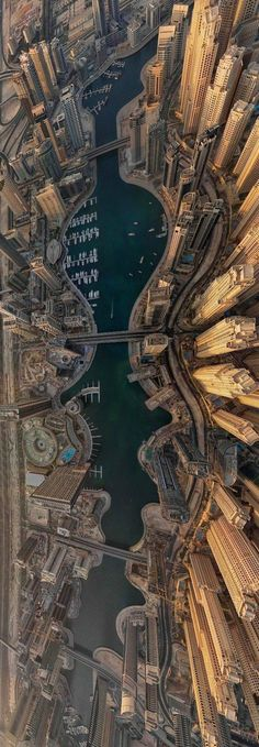 Dubai, from above.