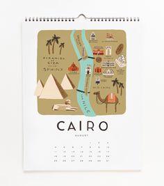 2013 Cities Calendar