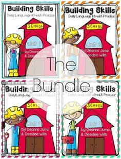 NO PREP Daily Language and Math Practice can be used a variety of ways! We use them for our whole group as a morning calendar routine. You can also use them for independent morning work, centers, or even homework! If you love my Chit Chat units, then you will love these! They bring literacy and math skills together in a fun interactive way!
