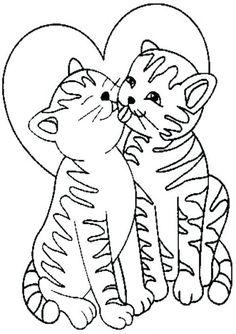 ausmalbild katzenfamilie 131 malvorlage katzen ausmalbilder kostenlos, ausmalbild katzenfamilie