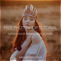 Free Photoshop Tutorials for Photographers – Kimla Designs