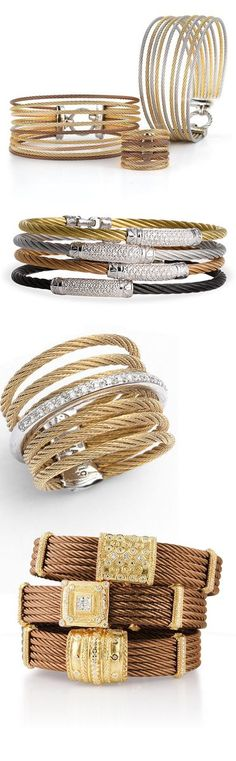 Charriol Jewelry - Cable bracelets and bangles