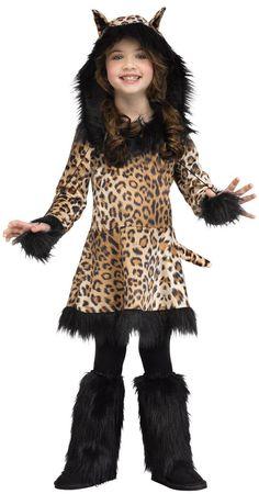 Kids Natural Leopard Costume from CostumeExpress.com  sc 1 st  Pinterest & Girls Leopard Costume | Disfraces | Pinterest | Leopard costume ...