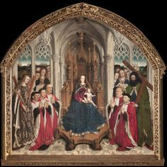Permanent loan from Barcelona City Council, 1902 316 x x cm Inventory number: From the altar of the chapel of Barcelona City Hall. Oil on oak wood Renaissance, Houses Of The Holy, Google Art Project, Medieval Paintings, Carolingian, Spanish Painters, Museum, Romanesque, Gothic Art
