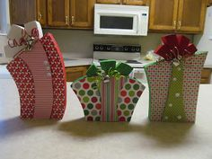 Christmas Present Wood Craft Tutorial by Guest Blogger, Talented Terrace Girls
