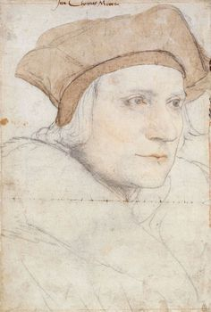 John More, son of Thomas More by Hans Holbein the Younger. Description from pinterest.com. I searched for this on bing.com/images