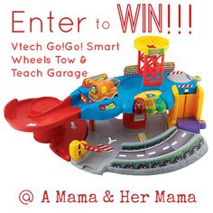 Enter to Win VTech Go!Go! Smart Wheels Tow & Teach Garage