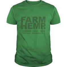 Farm Hemp Medicine Paper Food Textiles Housing Oil